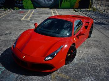 Salvage Ferrari 488 Spider